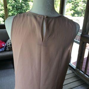 LOFT Tops - LOFT nude and cream blouse